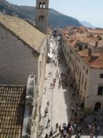 La Old City da una delle sue torri