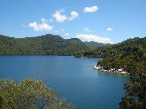 Il lago maggiore di Mljet